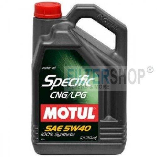 MOTUL Specific CNG/LPG 5W40 5 L motorolaj