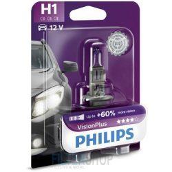 PHILIPS 12258 VPB1 Izzó H1 12V 55W Vision Plus