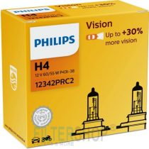 PHILIPS Izzókészlet (2 db) H4 12V 60/55W P43t PREMIUM