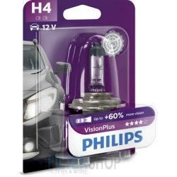 PHILIPS 12342 VPB1 Izzó H4 12V 60/55W Vision Plus