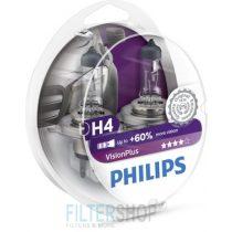 PHILIPS 12342 VPS2 Izzókészlet H4 12V 60/55W Vision Plus
