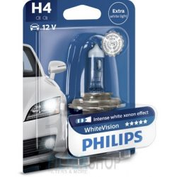PHILIPS 12342 WHVB1 Izzó H4 12V 60/55W White Vision