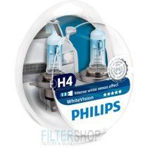 PHILIPS 12342 WHVSM Izzókészlet H4 12V 60/55W White Vision