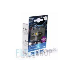 PHILIPS 12946 1LED LED izzó 12V 1W 11/41mm Blue Vision