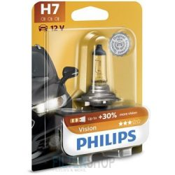 PHILIPS 12972 PRB1 Vision Izzó H7 12V 55W Premium +30% fényerő