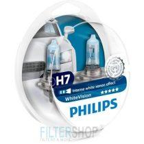 PHILIPS 12972 WHVSM Izzókészlet  H7 12V 55W White Vision