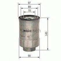 BOSCH 1457434281 Gázolajszűrő, üzemanyagszűrő FORD, NISSAN