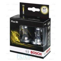BOSCH 1987301075 Izzókészlet H7 12V 55W Plus 90