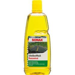 SONAX Nyári szélvédőmosó koncentrátum 1:10 Citrom illattal, 1 Liter