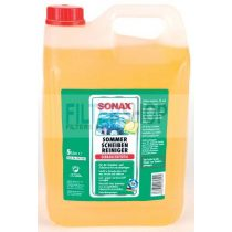 SONAX nyári szélvédőmosó készkevert - citrom ilattal 5 L