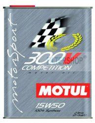 Motul 300V Competition 15w50 motorolaj 2 Liter