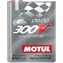 Motul 300V High RPM 0w20 motorolaj 2 Liter
