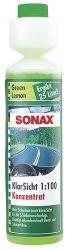 SONAX nyári szélvédőmosó koncentrátum 1:100 green lemon