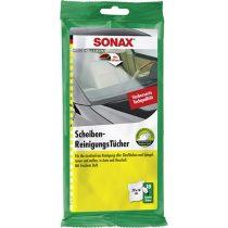 SONAX Üvegtisztitó kendő 10 db-os