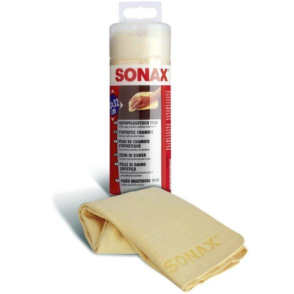 SONAX autóápoló kendő  (szintetikus bőr)