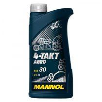 MANNOL 4-Takt Agro SAE 30 API SG 1 Liter motorolaj