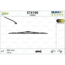 VALEO 574196 SILENCIO Conventional Single ablaktörlő lapát 35 cm, U csatlakozós