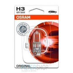 OSRAM 64151-01B Izzó H3 12V 55W