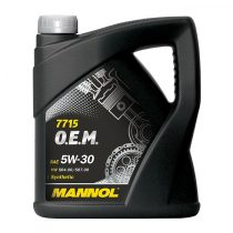 MANNOL 7715 O.E.M. VW, Audi, Skoda 5W30 motorolaj 5 Liter