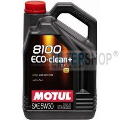 MOTUL 8100 Eco-clean+ 5W30 5 L motorolaj