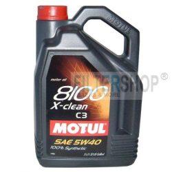 MOTUL 8100 X-clean 5W40 5 L motorolaj