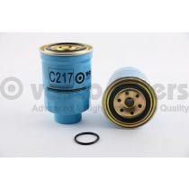VASCO C217 Gázolajszűrő, üzemanyagszűrő FORD, NISSAN