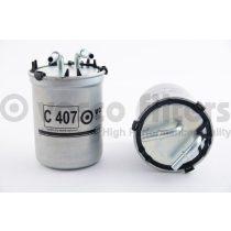 VASCO C407 Gázolajszűrő, üzemanyagszűrő Audi A1, Seat Ibiza, Skoda Fabia, Roomster, VW Polo