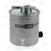 CHAMPION CFF100591 Gázolajszűrő, üzemanyagszűrő Dacia, Renault 1.5 DCi