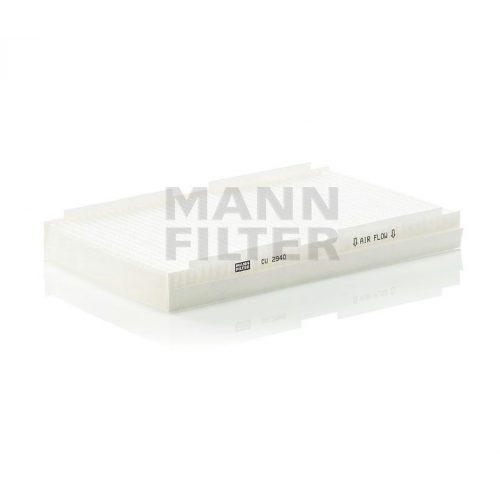MANN Filter CU2940 Pollenszűrő CITROEN C2, C3, C4, PEUGEOT 1007, 307, 308
