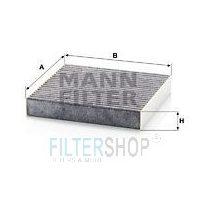 MANN Filter CUK20006 Aktívszenes Pollenszűrő Fiat Panda, 500, Lancia Ypsilon