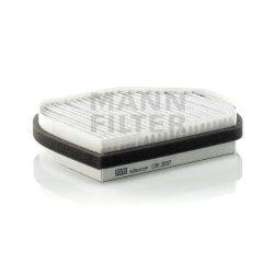 MANN Filter CUK2897 Aktívszenes pollenszűrő MERCEDES C, CLK, E, SLK