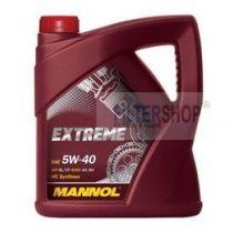 Motorolaj MANNOL Extreme A3/B3 5w40 5 L