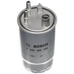 BOSCH F026402049 Gázolajszűrő, üzemanyagszűrő FIAT FIORINO, QUBO, DOBLO, GRANDE PUNTO, 1.3 MJTD