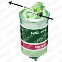 DELPHI HDF507 Gázolajszűrő, üzemanyagszűrő FORD, SEAT, SKODA, VW
