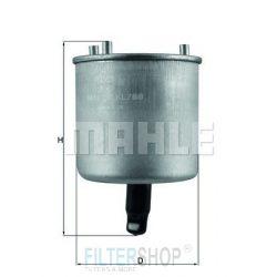 MAHLE KL788 Gázolajszűrő, üzemanyagszűrő 1.4-1.6 HDi CITROEN BERLINGO III, C3 PICASSO, C3 II, C4 II, C4 PICASSO, C5 II, DS3, DS4, PEUGEOT 206+, 207, 208, 308, 508, PARTNER III