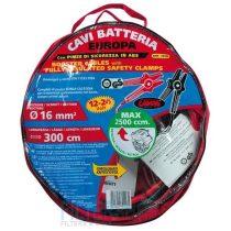 LAMPA LAM70117 Akkummulátor tápkábel szett, bikakábel 300 cm, 12-24 Volt