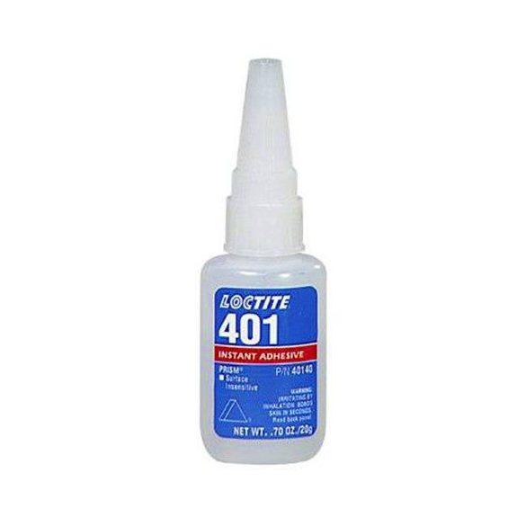 LOCTITE 401 Általános felhasználású pillanatragasztó 20g