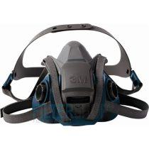 3M 6502QL Gyorsreteszelős, többször használható légzésvédő félálarc, félmaszk M-es méret