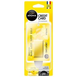AROMA Car Credit Card autó illatosító Vanilla