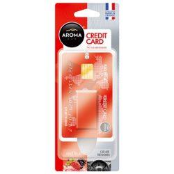 AROMA Car Credit Card autó illatosító Red Fruits