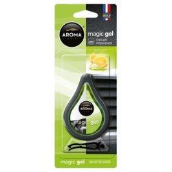 AROMA Car Magic Gel autó illatosító Lemon