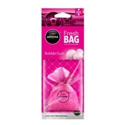 AROMA Car Fresh Bag autó illatosító Bubble Gum