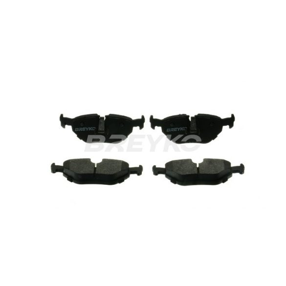 BREYKO Q1344 Hátsó fékbetét TELJES készlet 3M réteggel és tartozékokkal BMW E46, E36, Z1, Z4, E85, E86, Rover 75, Saab 9-5