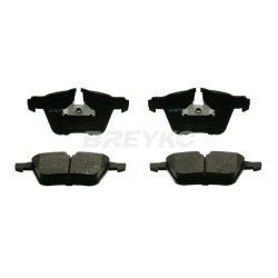 BREYKO Q1684 Első fékbetét TELJES készlet 3M réteggel és tartozékokkal Ford S-max, Galaxy, Volvo S60, S80, V60, V70, XC70