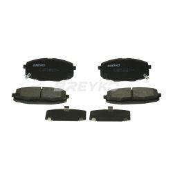 BREYKO Q3450 Első fékbetét TELJES készlet 3M réteggel és tartozékokkal Hyundai i30, Kia Ceed, Pro Ceed