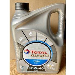 Motorolaj TOTAL QUARTZ DIESEL 7000 10W40 5 L