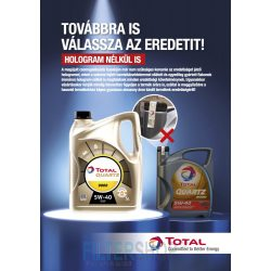 Motorolaj TOTAL QUARTZ INEO MC3 5W40 1 L