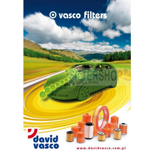 VASCO V013 Olajszűrő Toyota Land Cruiser 4.5 D-4D (286 LE) mot. 1VD-FTV