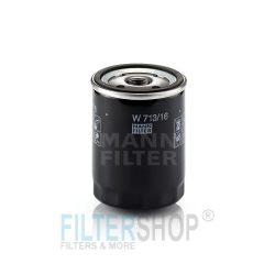 MANN Filter W713/6 Olajszűrő Alfa, Citroen, Fiat, Lancia