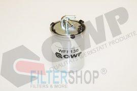 QWP WFF130 Gázolajszűrő, üzemanyagszűrő Seat Cordoba, Ibiza, Toledo, Skoda Fabia, Roomster, Volkswagen Polo